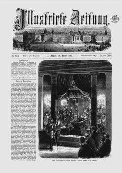 Leipziger Illustrirte Zeitung (LIZ) 1861, Band I No. 916 - 19. Januar 1861