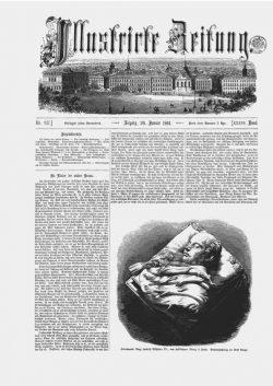 Leipziger Illustrirte Zeitung (LIZ) 1861, Band I No. 917 - 26. Januar 1861