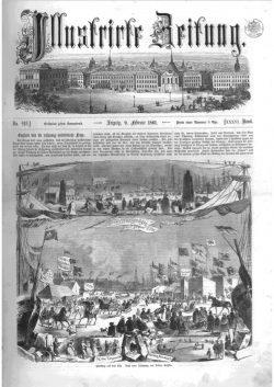 Leipziger Illustrirte Zeitung (LIZ) 1861, Band I No. 919 - 9. Februar 1861