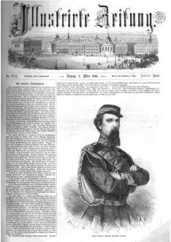 Leipziger Illustrirte Zeitung (LIZ) 1861, Band I No. 922 - 2. März 1861
