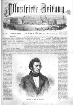 Leipziger Illustrirte Zeitung (LIZ) 1861, Band I No. 924 - 16. März 1861