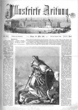 Leipziger Illustrirte Zeitung (LIZ) 1861, Band I No. 926 - 30. März 1861