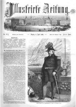 Leipziger Illustrirte Zeitung (LIZ) 1861, Band I No. 927 - 6. April 1861