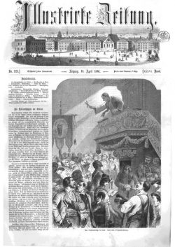 Leipziger Illustrirte Zeitung (LIZ) 1861, Band I No. 928 - 13. April 1861
