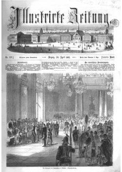 Leipziger Illustrirte Zeitung (LIZ) 1861, Band I No. 929 - 20. April 1861