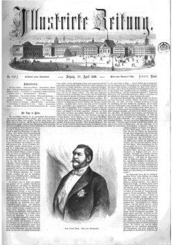 Leipziger Illustrirte Zeitung (LIZ) 1861, Band I No. 930 - 27. April 1861