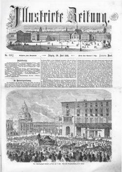 Leipziger Illustrirte Zeitung (LIZ) 1861, Band I No. 939 - 29. Juni 1861