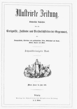 Leipziger Illustrirte Zeitung (LIZ) 1861, Band I
