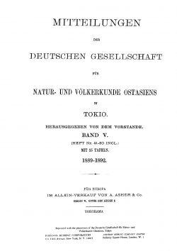 Band V (1888-1892), Heft 49