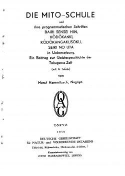 Band XXXI (1938-1939) Teil B