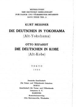 Band XXXIX (1956-1961) Inhaltsverzeichnis