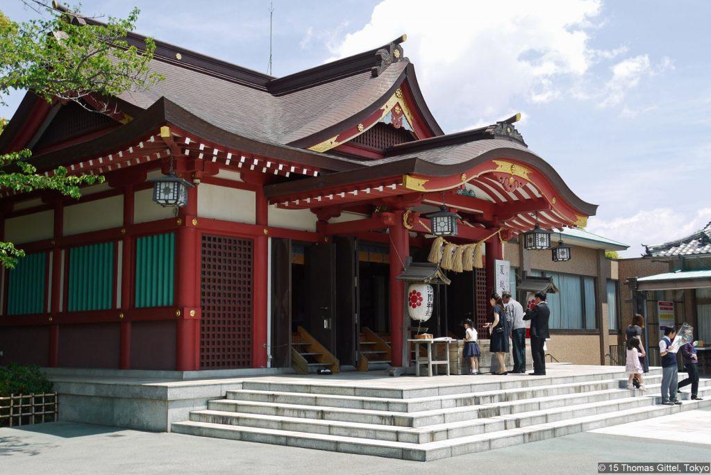 Inage Kaigan Sengen Jinja - Auf historischen Spuren durch Inage in Chiba