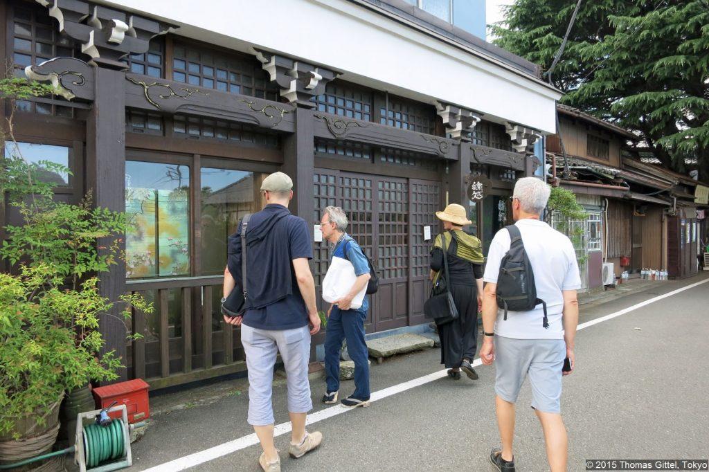 Yanaka Atelier Alan West - Spaziergang in Yanesen