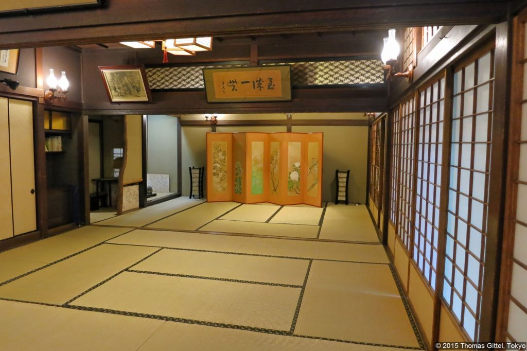 Ikenohata Mori Ōgais Haus - Spaziergang in Yanesen
