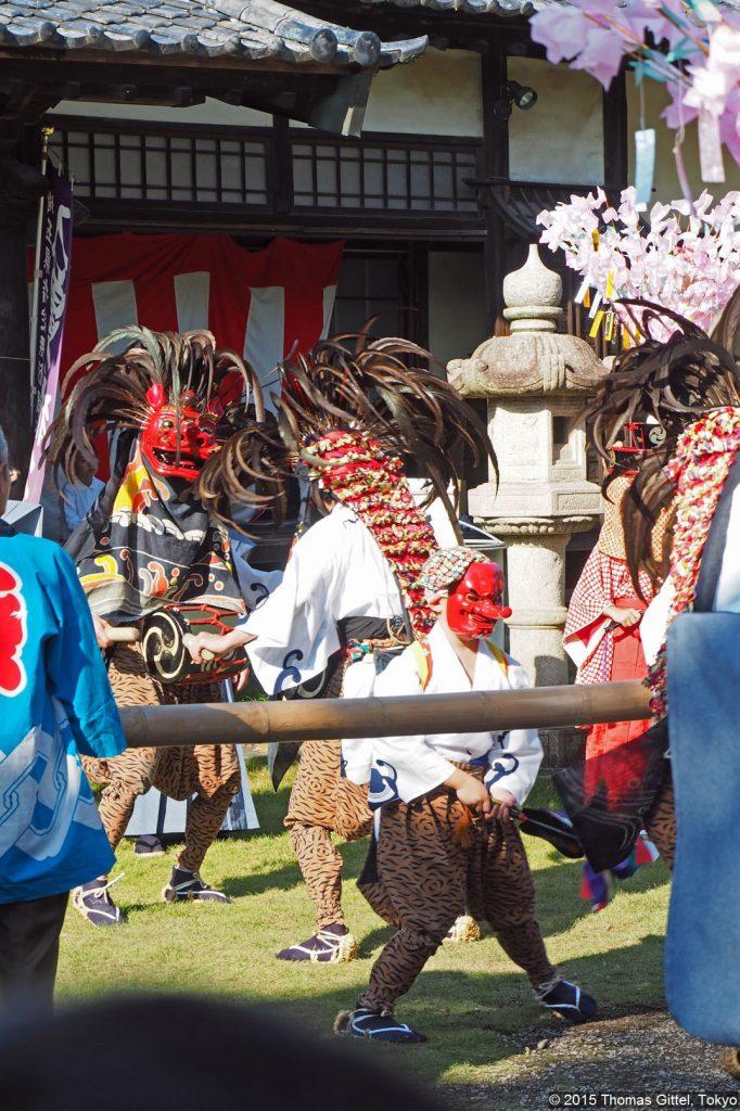 Shishimai (Löwentanz) von Iriso - Der Shishimai von Iriso