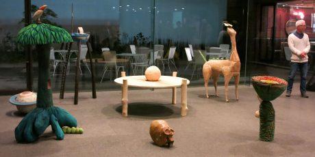 Ausstellung von Kurahashi Motoharu