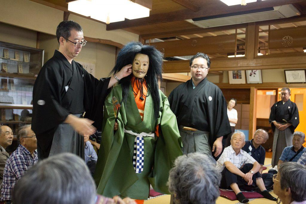 """Vortrag/Workshop: """"Der Stoff, aus dem Nō gemacht ist …"""" mit Matsuki Chitoshi und Meguro Kunihiko"""