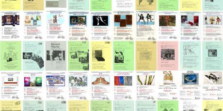 Kunstplakatgestaltung der OAG Tokyo 1985 bis 2017