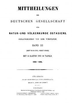 Band III (1880-1884), Heft 27