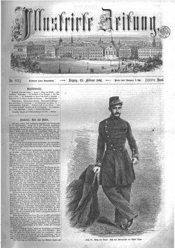Leipziger Illustrirte Zeitung (LIZ) 1861, Band I No. 921 - 23. Februar 1861
