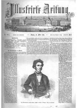Leipziger Illustrirte Zeitung (LIZ) 1861, Band I No. 925 - 23. März 1861