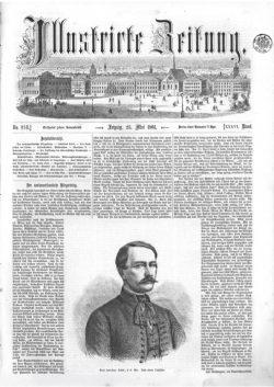 Leipziger Illustrirte Zeitung (LIZ) 1861, Band I No. 934 - 25. Mai 1861