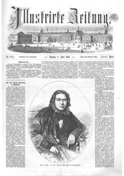Leipziger Illustrirte Zeitung (LIZ) 1861, Band I No. 936 - 8. Juni 1861