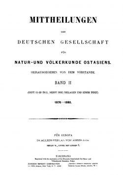 Band II (1876-1880), Heft 20