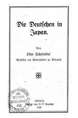 Die Deutschen in Japan