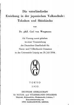 Band XXVIII (1934-1939) Teil D