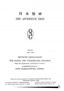 Band XXVIII (1934-1939) Inhaltsverzeichnis