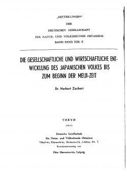 Band XXXII (1940-1943) Teil E