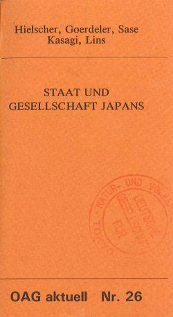 Staat und Gesellschaft Japans