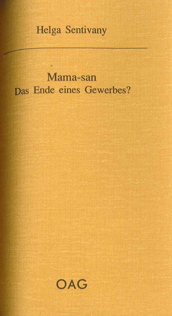 Mama-san. Das Ende eines Gewerbes?