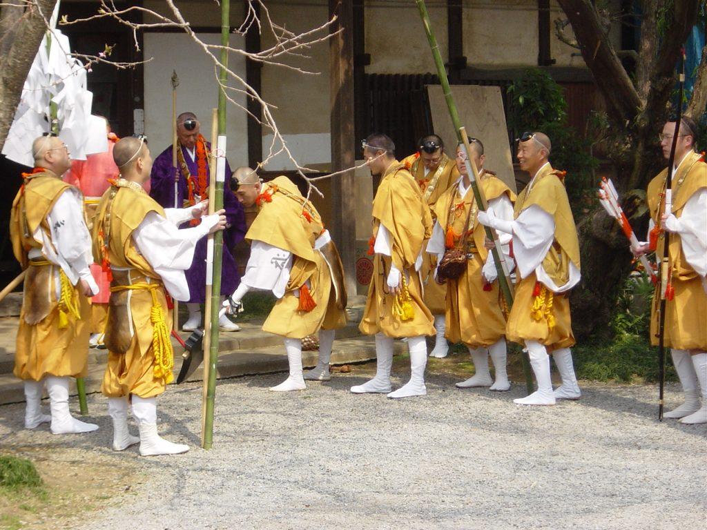 Vorbereitungen - Exkursion zum Feuerritual Saitō Goma