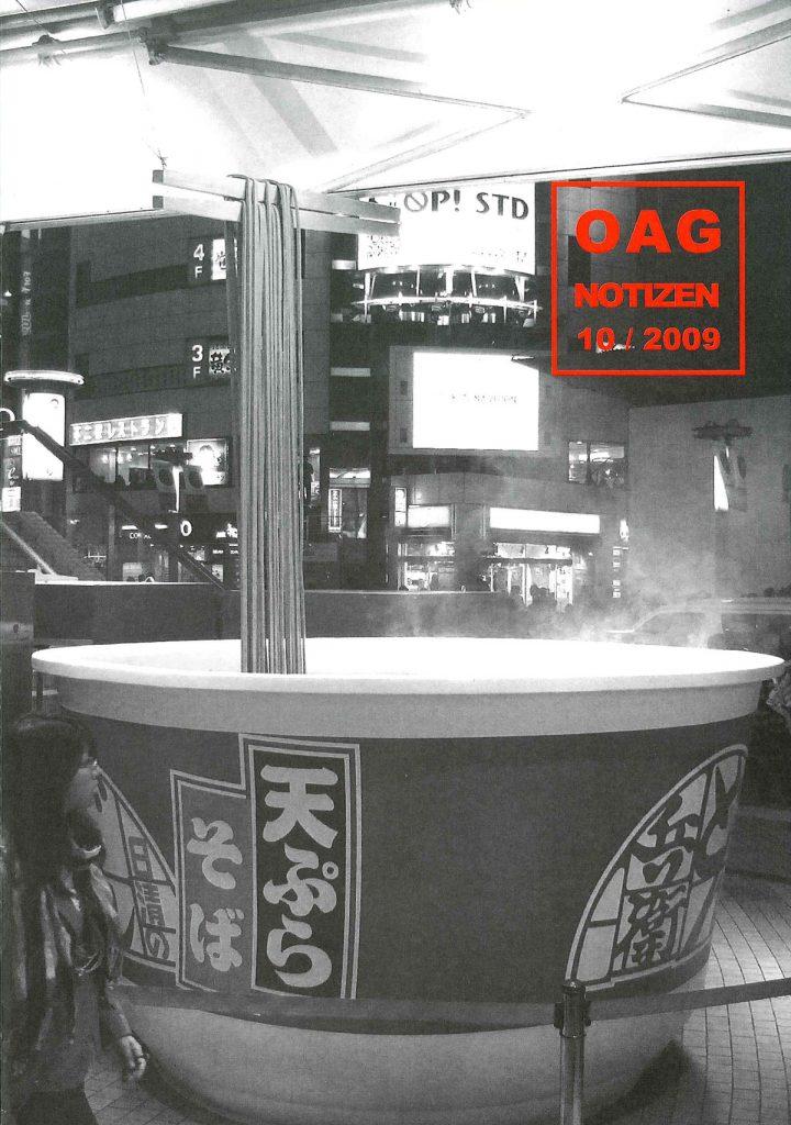 OAG-Notizen-Oktober-2009