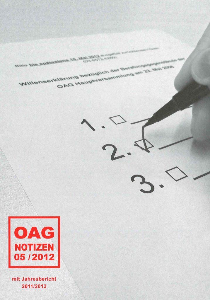 OAG Notizen 1205