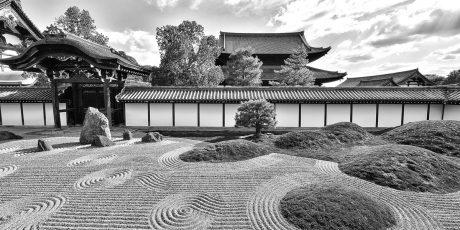 Zen-Gärten in Kyoto und wie wir sie 'lesen' können. Führung durch zwei Gärten des Tōfuku-ji-Klosters