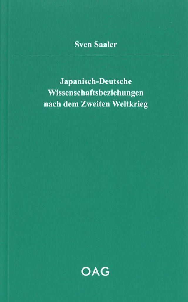 Japanisch-Deutsche Wissenschaftsbeziehungen nach dem Zweiten Weltkrieg