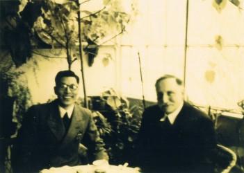 Haushofer-Iimoto-1938-Haushofers-Wintergarten