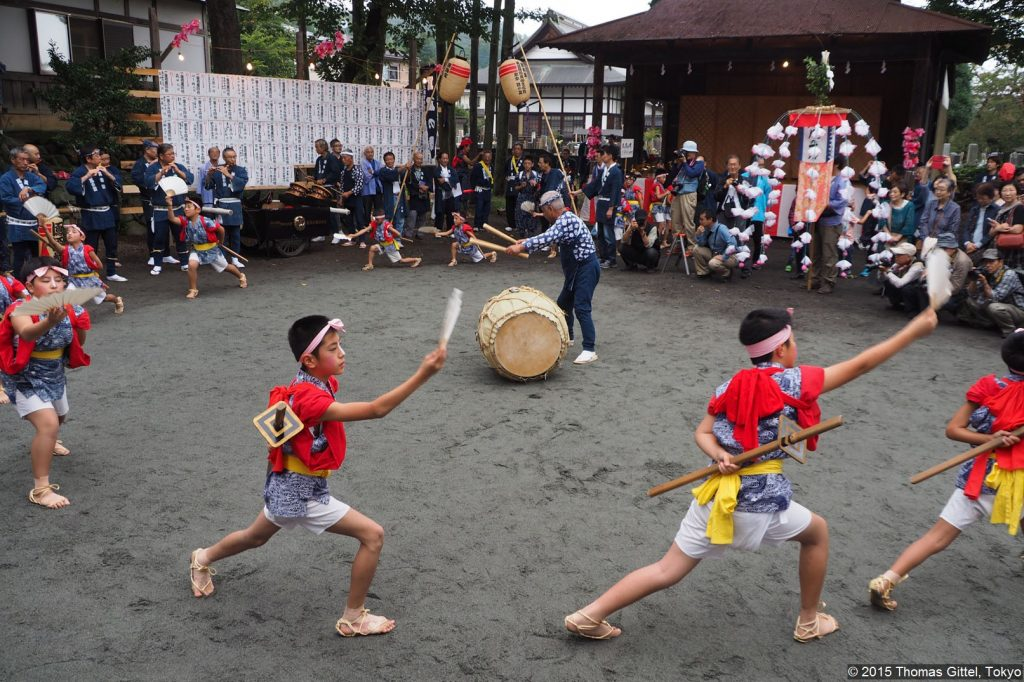 Phönixtanz in Hirai 平井の鳳凰の舞
