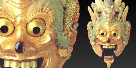 Führung durch die Ausstellung über die traditionellen darstellenden Künste Japans