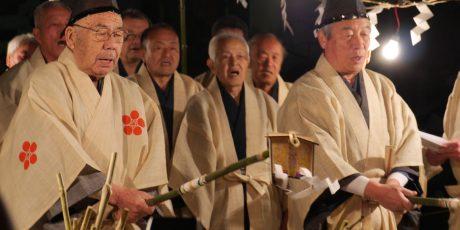 Neujahrsfest in Itabashi im Kitano-Schrein