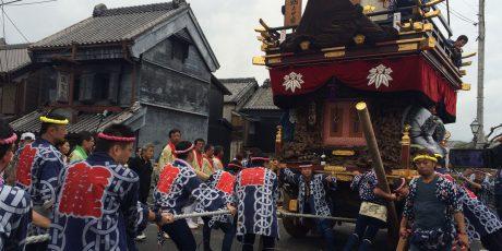 Herbstfest Sawara Taisai in Chiba