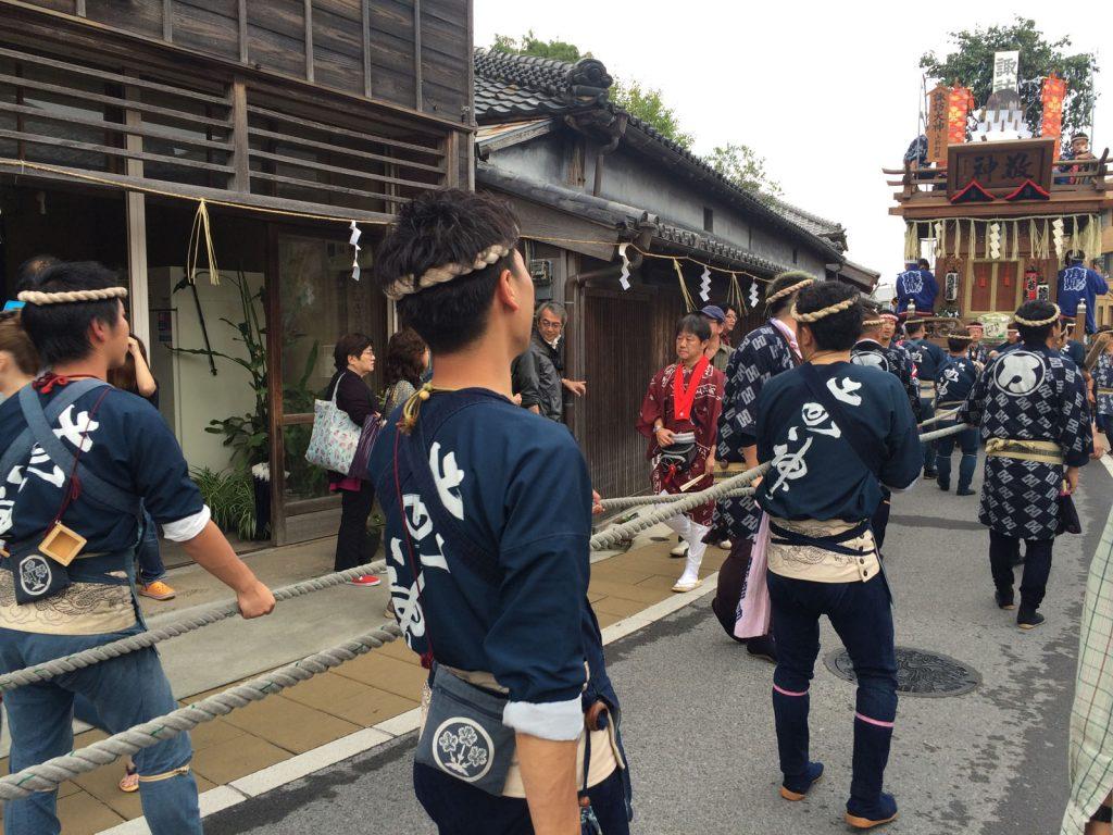 Sawara Taisai - Herbstfest Sawara Taisai in Chiba