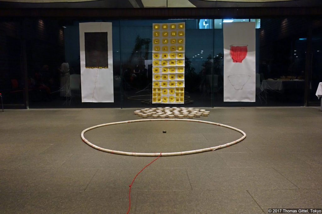 "Installation ""Utsuwa"" – Marion Settekorn"