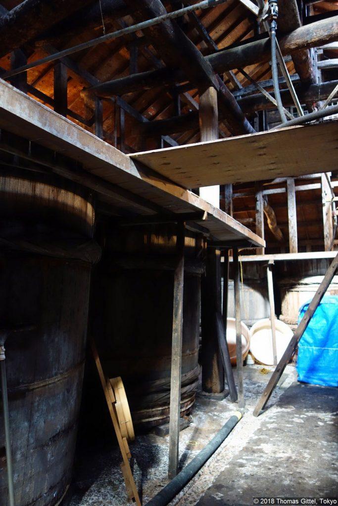 Shōyu- und Sake-Brauerei Matsumoto (Brauhaus) - Besichtigung einer Sake- und Shōyu-Brauerei in Kawagoe
