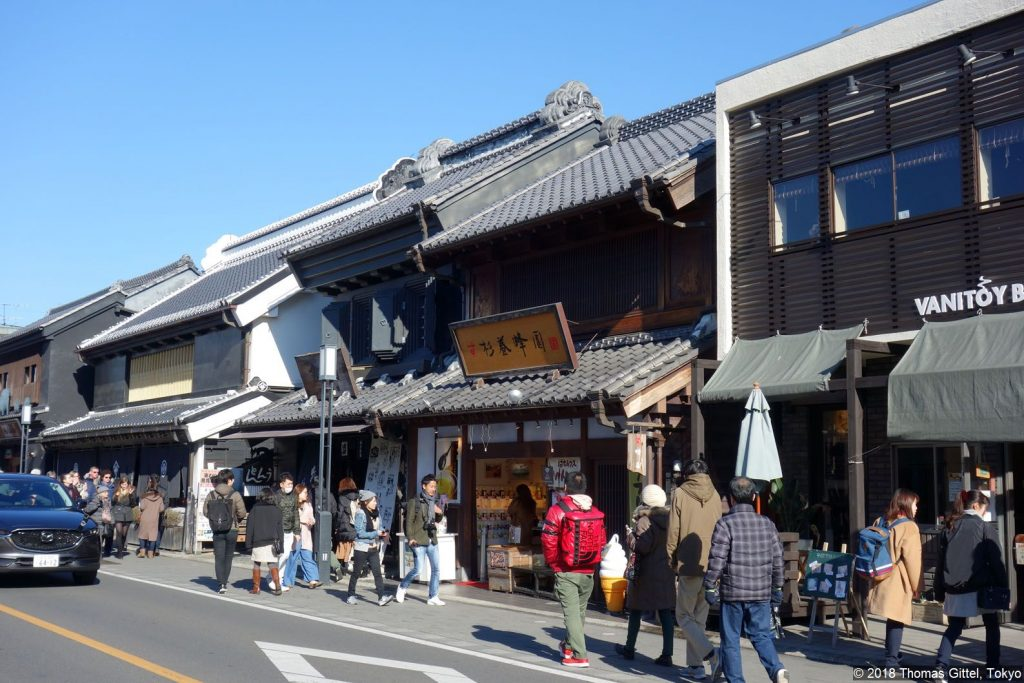 Kawagoe: Kuratsukuri-Straße (蔵造りの町並み) - Besichtigung einer Sake- und Shōyu-Brauerei in Kawagoe