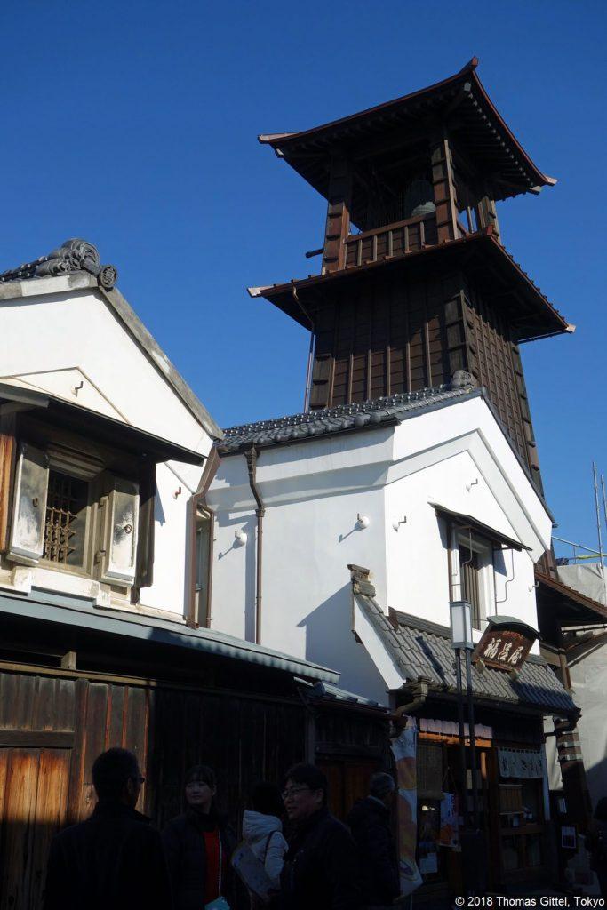 Kawagoe: Turm der Zeit-Glocke (時の鐘) - Besichtigung einer Sake- und Shōyu-Brauerei in Kawagoe