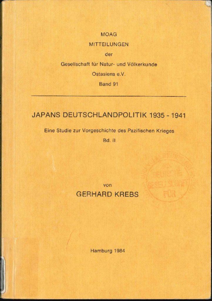Japans Deutschlandpolitik 1935-1941